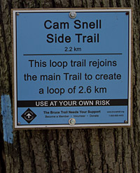 Hockley Valley Cam Snell Side Trail