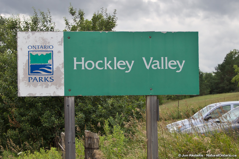 Hockley Valley Provincial Park Sign